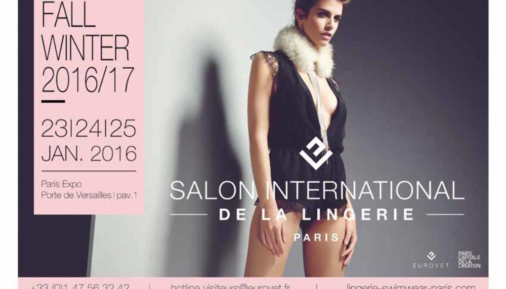 La saison 2016-2017 en avant-première au Salon International de la Lingerie
