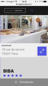 Pages Mode reseaux social