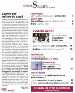 sommaire du magazine