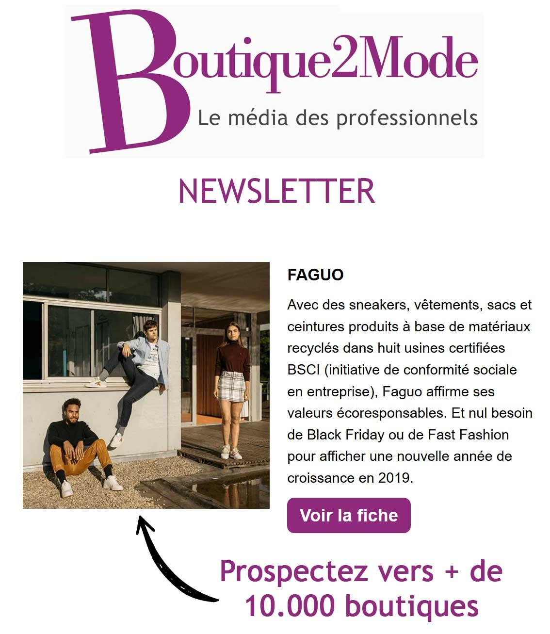 Pack Annuaire des marques de mode – Boutique2Mode