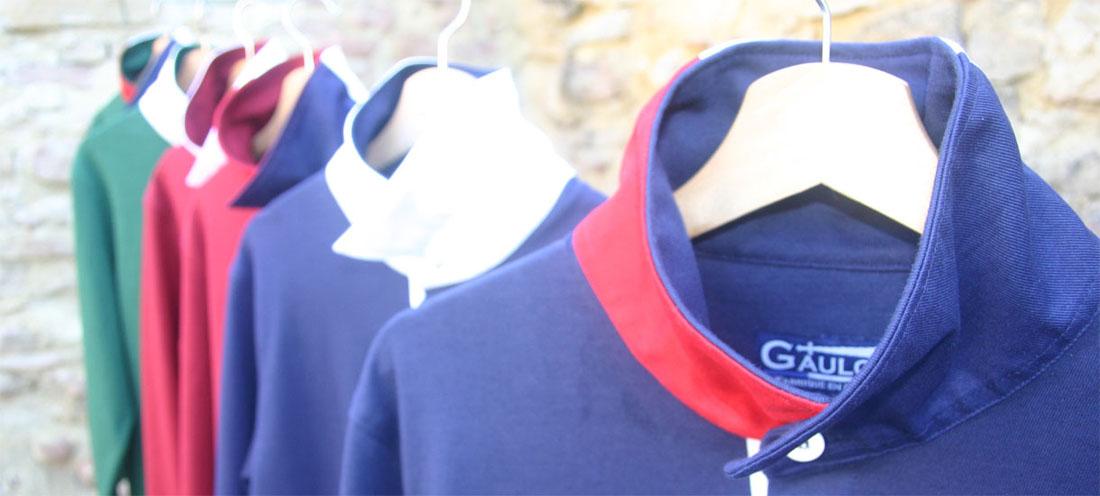 GAULOIS® polos, t-shirts casquettes, prêt à porter pour homme